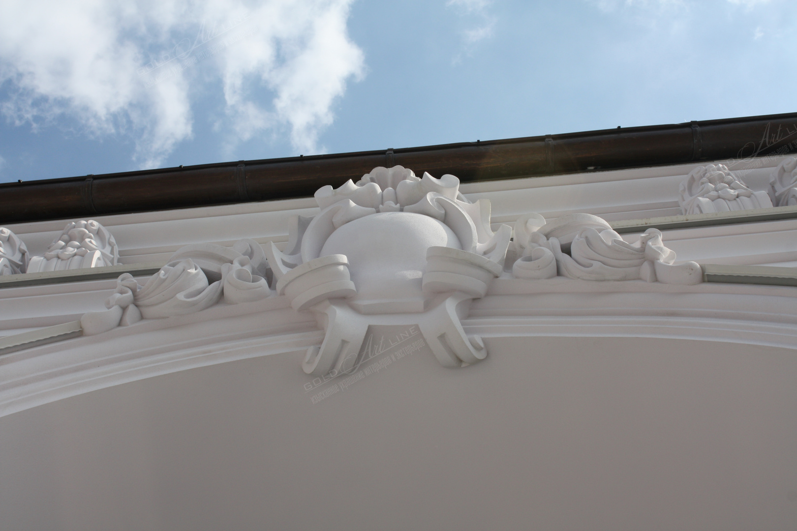 декорирование фасада,