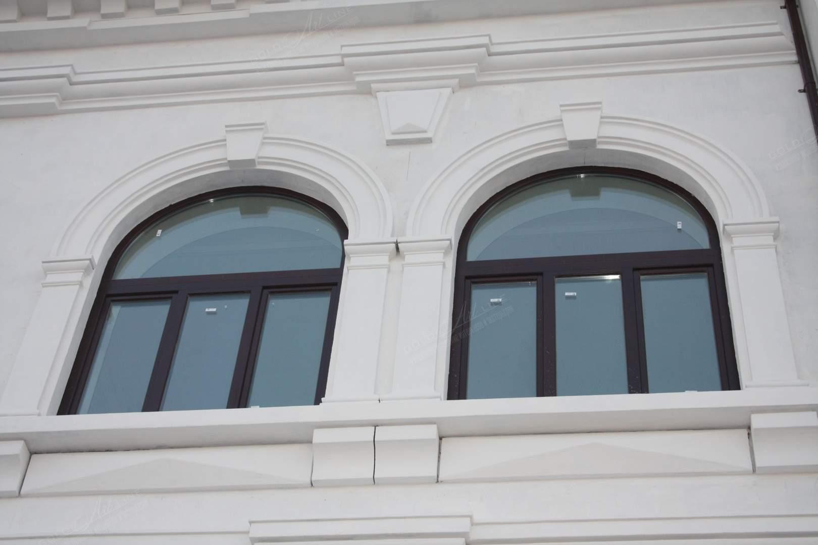 Фасадная лепнина из полиуретана