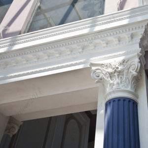 Лепнина на фасаде