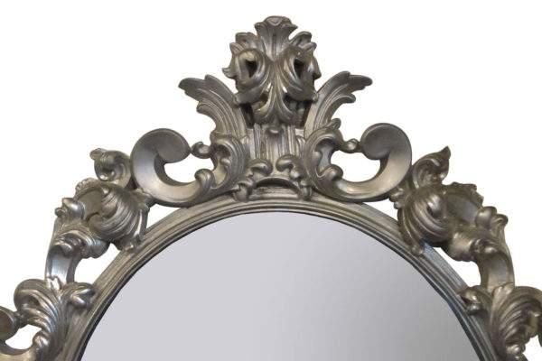 овальное зеркало в раме купить