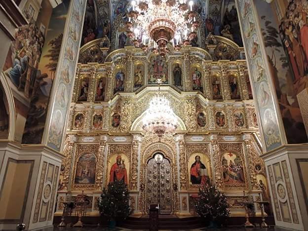 Центральная часть Успенского собора