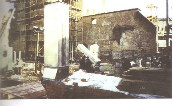Особенности инженерных решений при воспроизведении Успенского собора