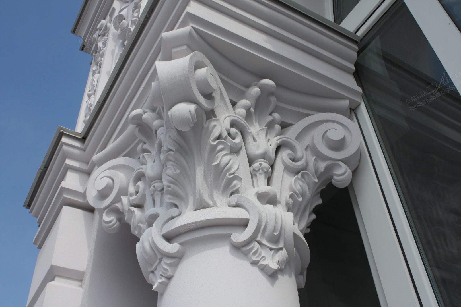 Фасадный декор фибробетона бетон м200 купить в красноярске