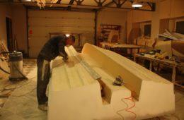 изготовить стеклопластиковый катер