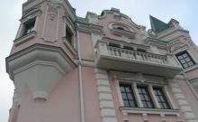оформление фасада здания лепниной