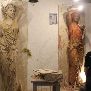 изготовление скульптур из бронзы