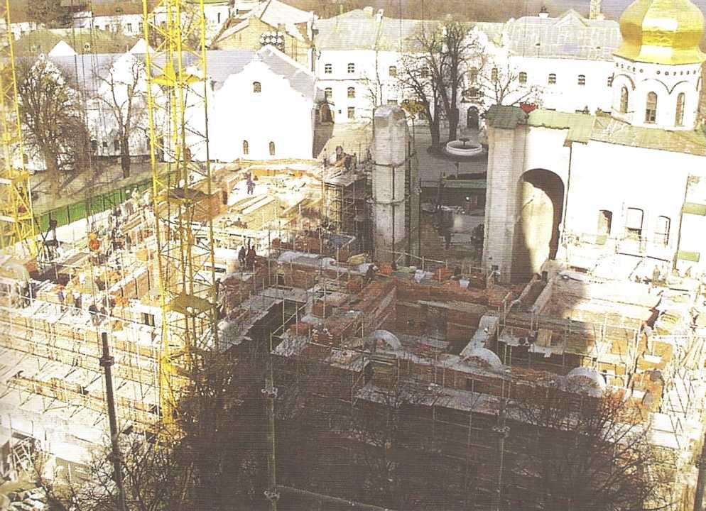 Обследование 1998 Успенского собора