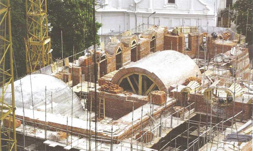 Воссоздание памятников архитектуры