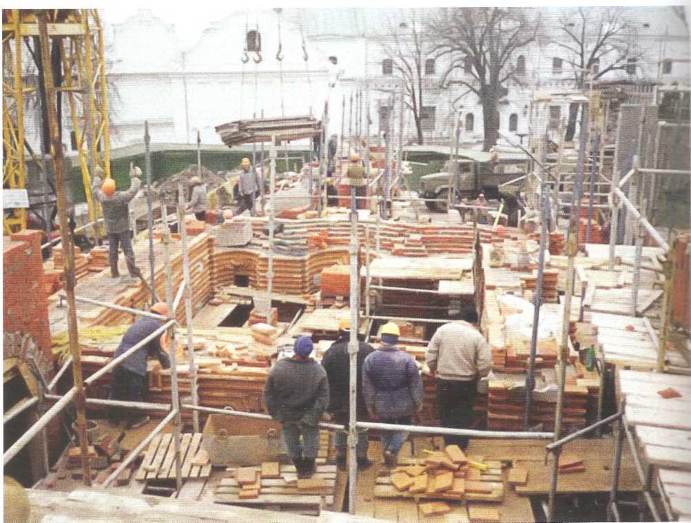 Программа научных исследований Успенского собора 1998