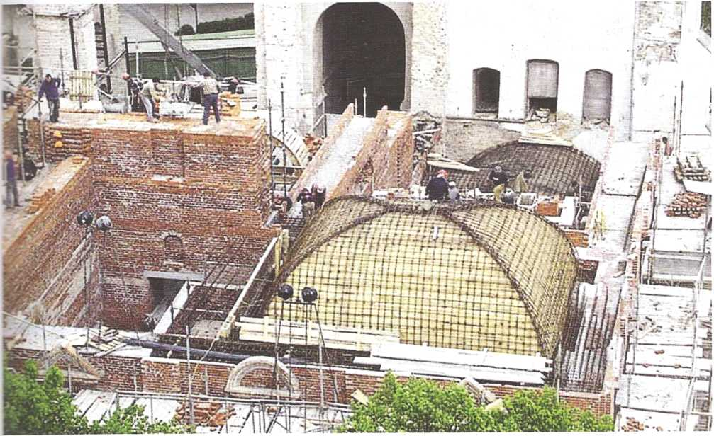 Обсуждение проекта воссоздания Успенского собора