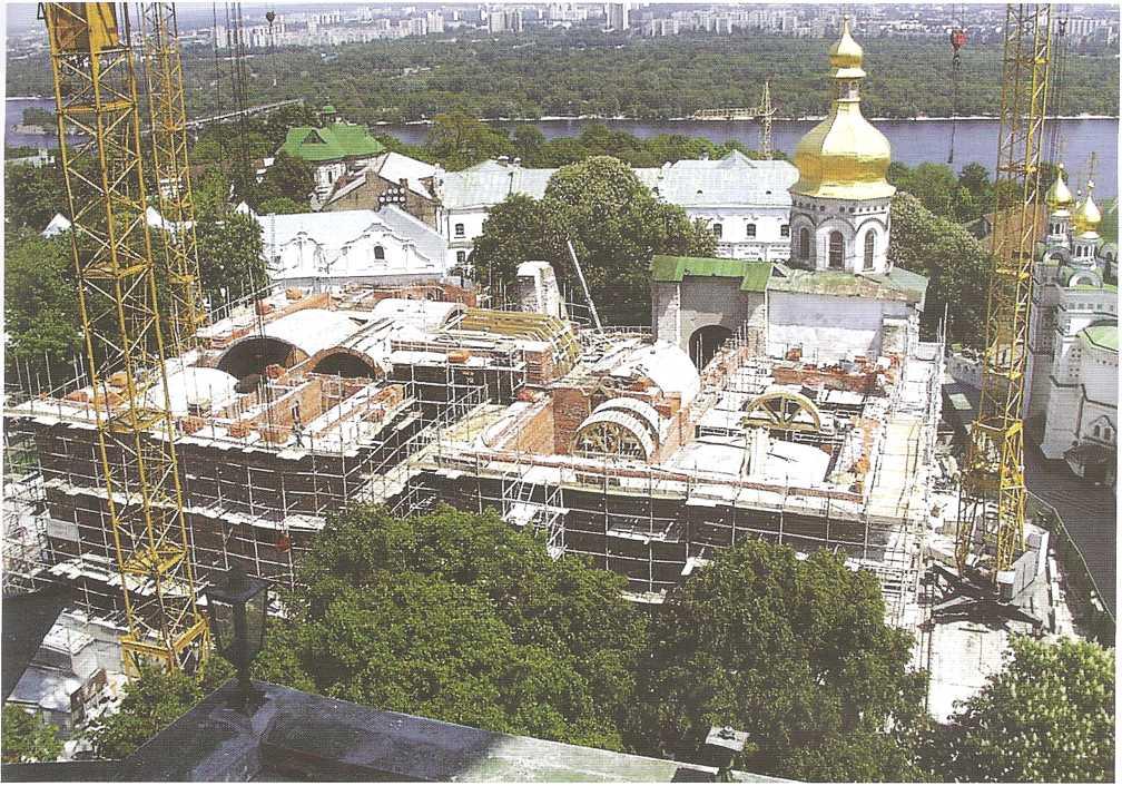 Хронология строительной истории Успенского собора 1073-1300рр.