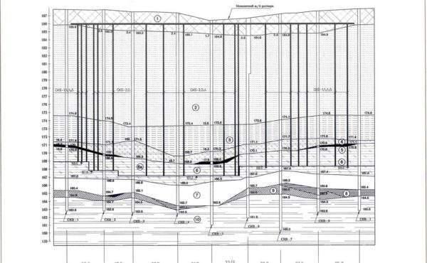 Воспроизведение подземной и надземной частей Успенского собора